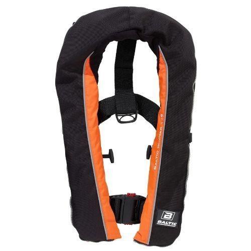 Baltic Winner 165 - Automatic Inflatable Lifejacket - Black/Orange