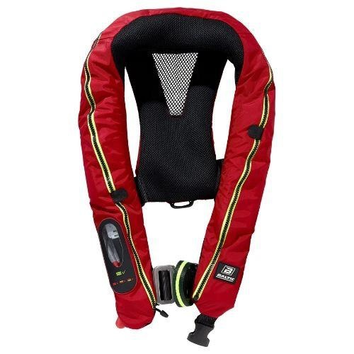 Baltic Legend 165 - Automatic Inflatable Lifejacket with Harness - Red