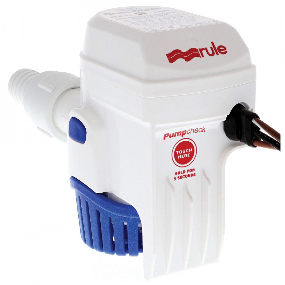 Rule 500 GPH (1890 LPH) Rule-Mate Automatic Bilge Pump - 12V