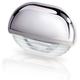 Hella White LED Easy Fit Step Lamp - 12-24V DC - Chrome Plated Plastic Cap