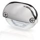 Hella White LED Easy Fit Step Lamp - 12-24V DC - Polished 316 Stainless Steel Cap