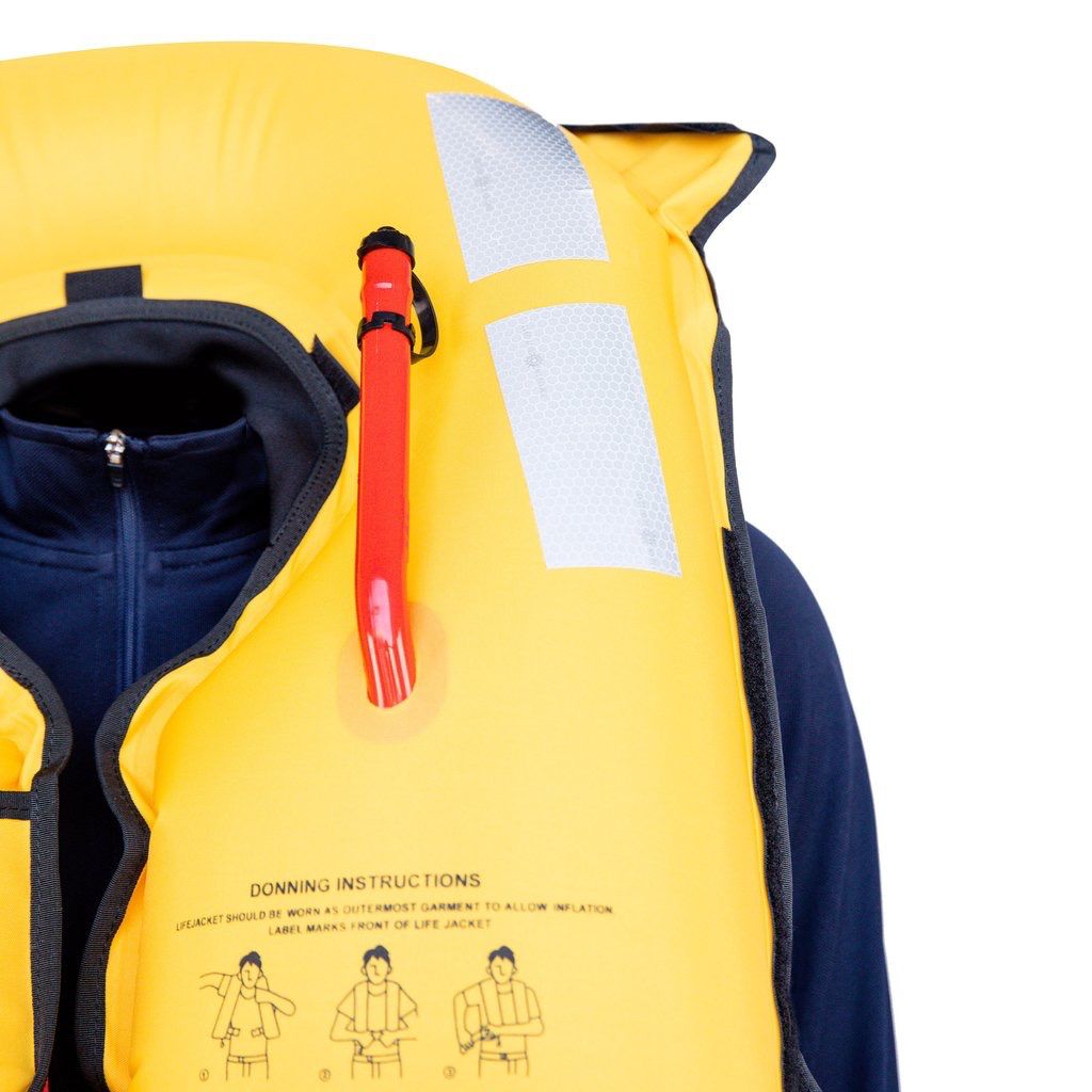 Burke Whip 150N Automatic Inflatable Lifejacket (PFD)
