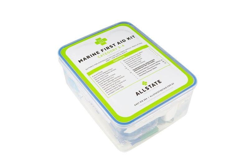 Allstate Category 3 to 4 Marine First Aid Kit
