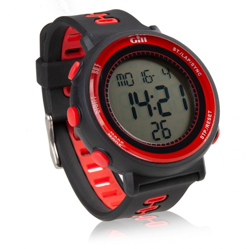 Gill Race Watch Black/Red 1Size