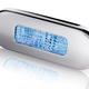Hella LED Surface Mount Oblong Courtesy Lamp - Polished Stainless Steel Rim - 12/24V DC - Blue Light