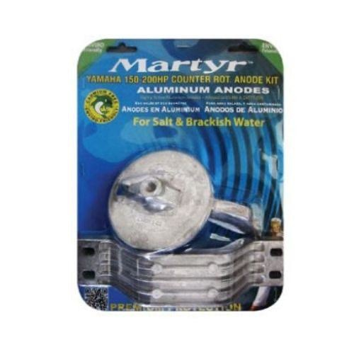 Martyr Yamaha Type Anode (Alloy) Kit - 150-200HP Outboards (Counter Rotation)