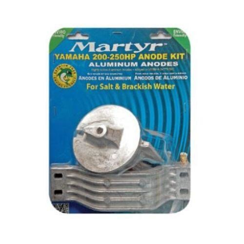 Martyr Yamaha Type Anode (Alloy) Kit - 200-250HP Outboards
