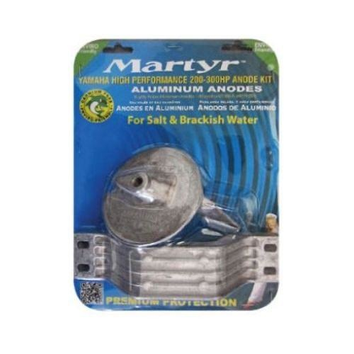 Martyr Yamaha Type Anode (Alloy) Kit - High Performance 200-300HP Outboards