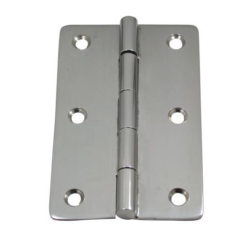Marine Town Non Mortise Butt Hinge - Pressed Stainless Steel - Sold as Pair - Length: 150.5mm - Width: 96mm