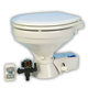 Jabsco 37045 Series Quiet Flush Electric Toilet - Fresh Water - 12V - Large Size