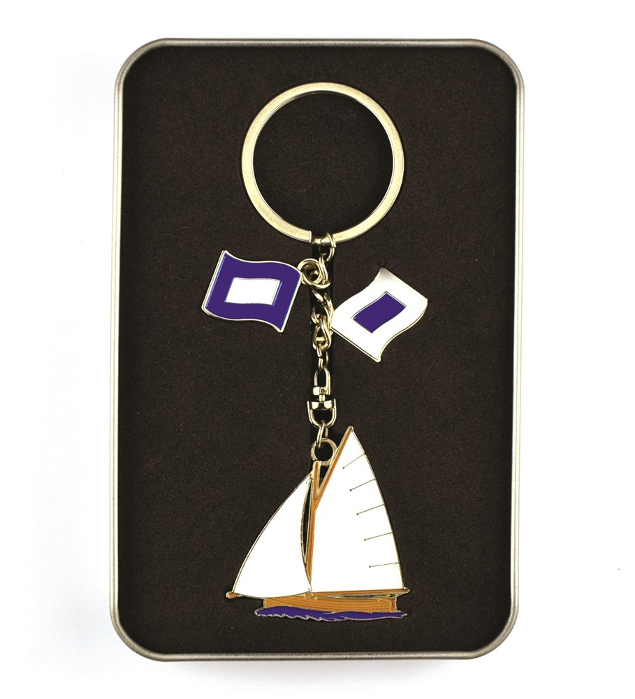 Nautigo 'Sail Away' - Keyring