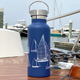 Nautigo 'Sail Away' - 500ml Insulated Hot/Cold Drink Bottle - Double Walled Stainless Steel
