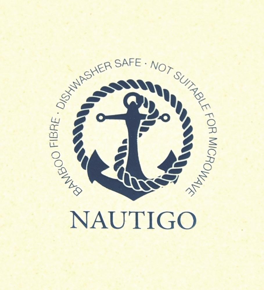 Nautigo 'Sail Away' - Bamboo Cereal Bowl - 15cm