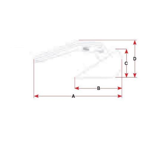 BLA Slider Anchor - Galvanised