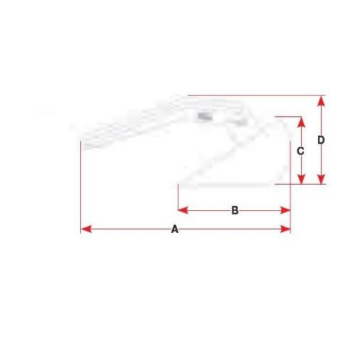 BLA Slider Anchor - Stainless Steel