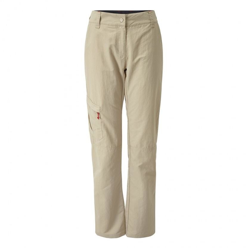 Gill Womens UV Tec Trousers - Khaki