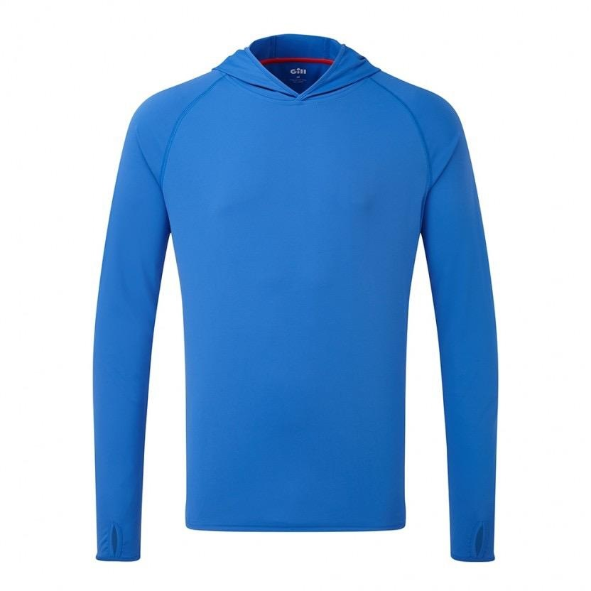 Gill UV TEC Hoody - Blue - Medium