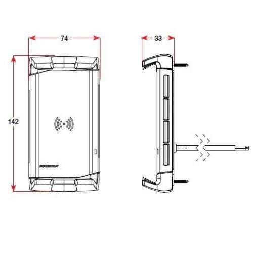 Scanstrut ROKK Wireless Active 12/24V