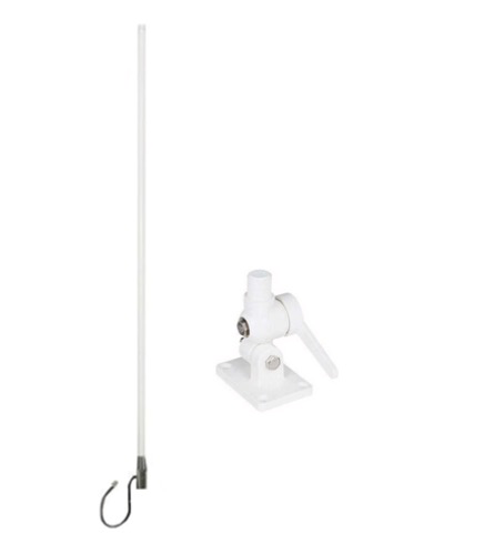 Blackhawk Marine WideBand Omni HG 7 / 10dBi Antenna - No Cable - Suits 3G/4G Routers - Standard Adjustable Base