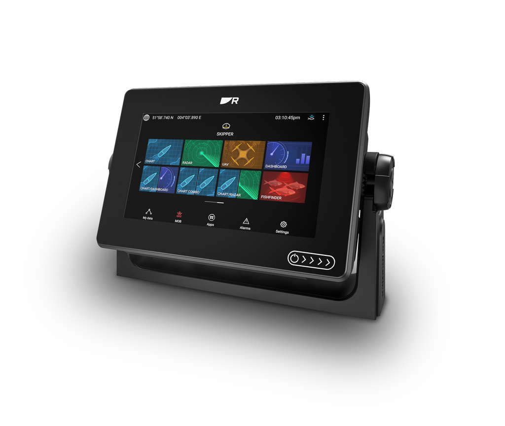 """Raymarine AXIOM+ 7"""" Multi-function Display with integrated RealVision 3D& 600W Sonar"""