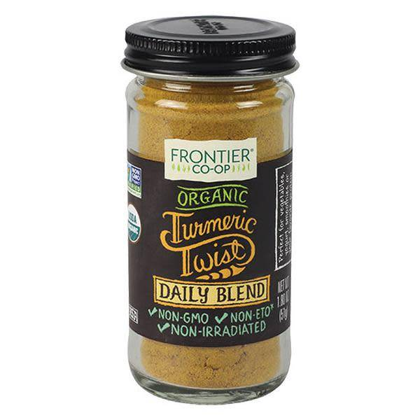 Frontier Frontier Co-op Organic Turmeric Twist Daily Blend 1.8 oz