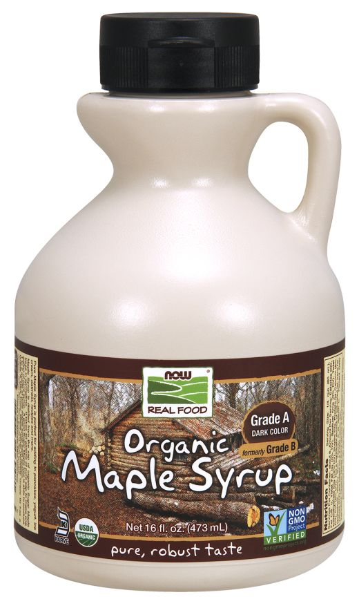 Now Foods Maple Syrup, Grade A, 16 fl oz