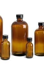 Amber Glass Bottle 8 fl oz