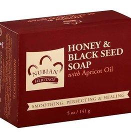 Nubian Nubian Honey Black Seed Soap 5oz