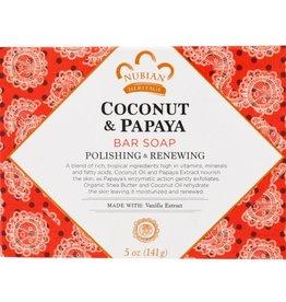 Nubian Nubian Coconut/Papaya Soap 5oz