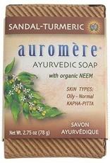 Auromere Auromere Soap Sandalwood-Turmeric 2.75oz