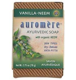 Auromere Auromere Soap Vanilla-Neem 2.75oz