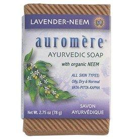 Auromere Auromere  Soap Lavender-Neem 2.75oz