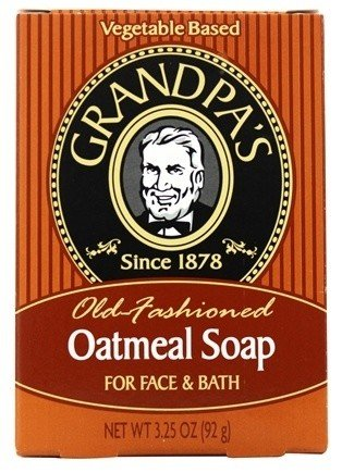 Grandpa's Grandpas Oatmeal Soap 3.25oz