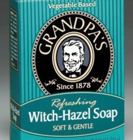 Grandpa's Grandpas Witch Hazel Soap 4.25 oz