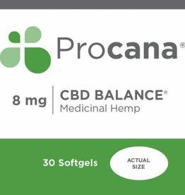Procana Procana CBD Balance (8mg) 30 softgels