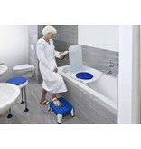 INVACARE INVACARE AQUATEC R  RECLINING BATH LIFT BLUE OR WHITE