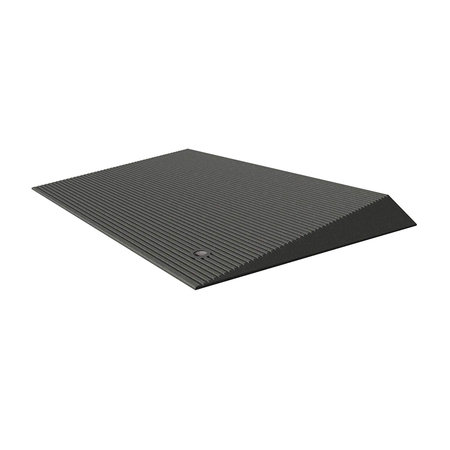 Ez Access Transitions Angled Entry Mat 1 5 In Storm Grey