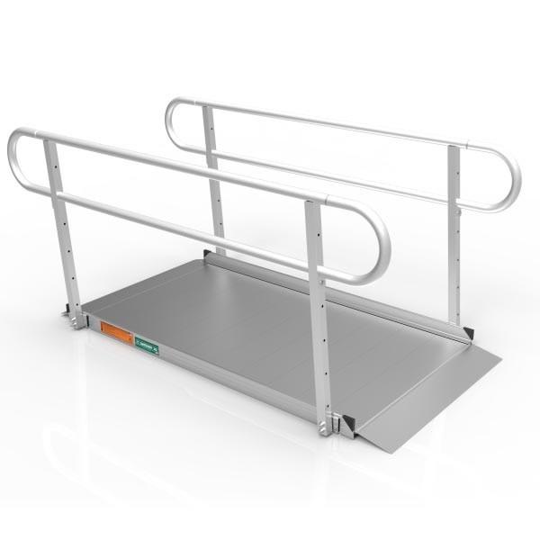 EZ-ACCESS EZ-ACCESS Gateway 5-ft Ramp with Handrails