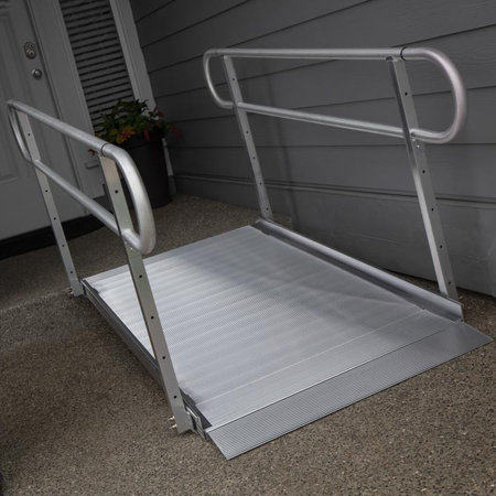 EZ-ACCESS EZ-ACCESS Gateway 6-ft Ramp with Handrails