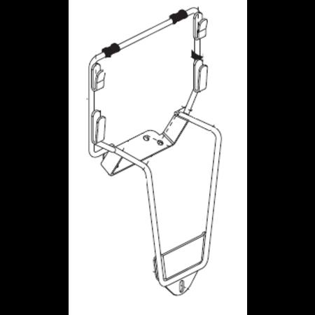 PRIDE MOBILITY JUMBO BASKET MOUNTING KIT