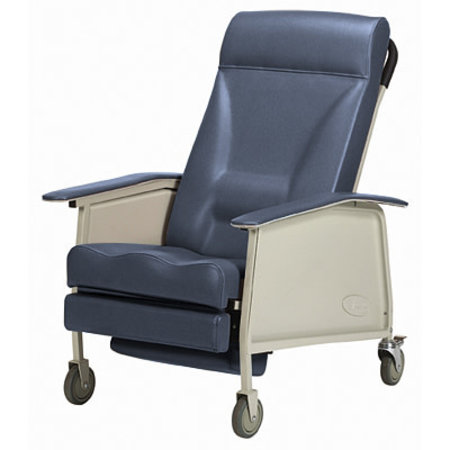 INVACARE INVACARE DELUXE WIDE THREE-POSITION RECLINER, BLUERIDGE 400 POUNDS CAPACITY
