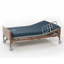 INVACARE ELECTRIC HOSPITAL BED WITH SIDINGS AND MATTRESS SOLACE 3080
