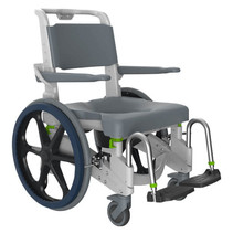 JAZ-SP SELF PROPEL SHOWER COMMODE CHAIR