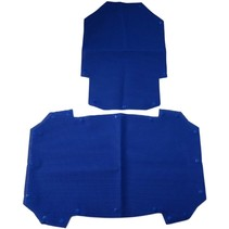 COVER SET, SEAT AND BACKREST, BLUE