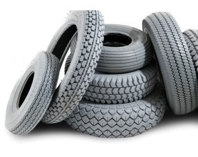 MOBILITY SCOOTER TIRES, TUBES AND WHEELS