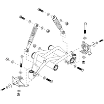 PRIDE FRONT FRAME SUSPENSION FOR THE PURSUIT XL (SC714)