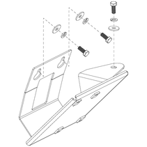 PRIDE FRAME,ASSY,CONTROLLER TRAY