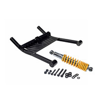 PRIDE REAR TRAIL ARM AND SHOCK ASSEMBLY FOR THEPRIDE MOBILITY PURSUIT XL (SC714)