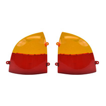 PRIDE RED/AMBER REAR LENS COVER FOR THE HURRICANE (PMV500), MAXIMA (SC900/SC940), AND CELEBRITY 2000 (SC4000/SC4400) LEFT