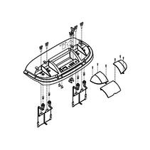 PRIDE COVER,ASSY,PLASTIC,REAR ELECTRONICS MODULE,SC900/940